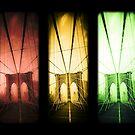 Brooklyn Bridge Trio by Edward Fielding