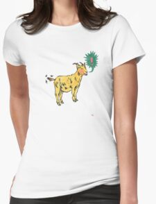 G is for Goat! Womens Fitted T-Shirt