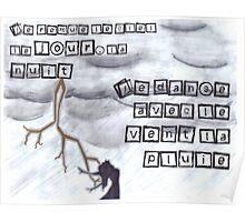 La Pluie Danseur Avec Paroles Poster