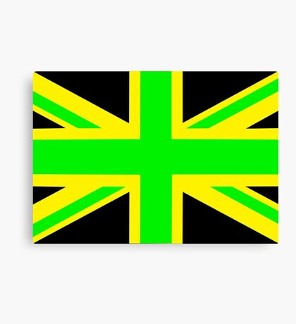 Jamaica/UK Canvas Print