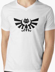 Majora's Crest Mens V-Neck T-Shirt