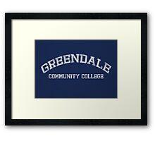Greendale Community College Framed Print