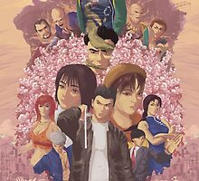 Shenmue Tree - Available till December the 10th! by orioto