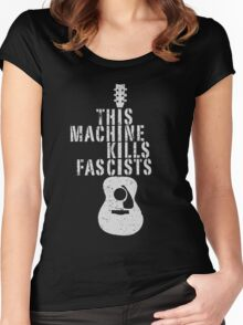 This Machine Kills Fascists Women's Fitted Scoop T-Shirt