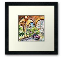 Bergamo Upper Town 02 Framed Print