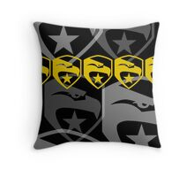 The Iconic G.I.Joe (black) Throw Pillow