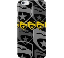 The Iconic G.I.Joe (black) iPhone Case/Skin