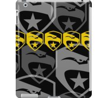 The Iconic G.I.Joe (black) iPad Case/Skin