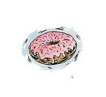 D is for Doughnut! Photographic Print
