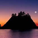 Sunset at First Beach - La Push .2 by Alex Preiss