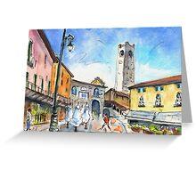 Bergamo Upper Town 03 Greeting Card