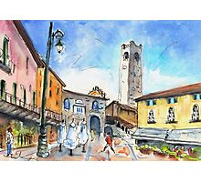 Bergamo Upper Town 03 Photographic Print