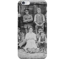 Days gone by a family portrait iPhone Case/Skin