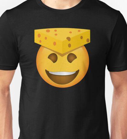 Emoji CheeseHead Cheese Hat Unisex T-Shirt