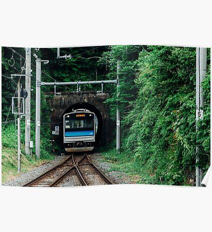 Tunnel Train Poster