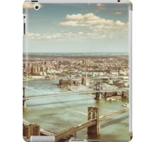 New York City - Skyline from Above  iPad Case/Skin