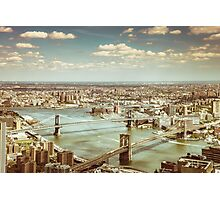 New York City - Skyline from Above  Photographic Print