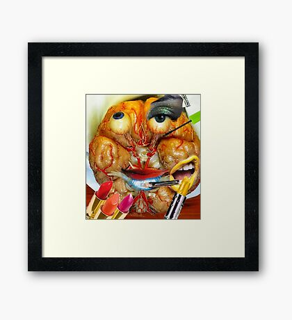 Makeup of the Brain Framed Print