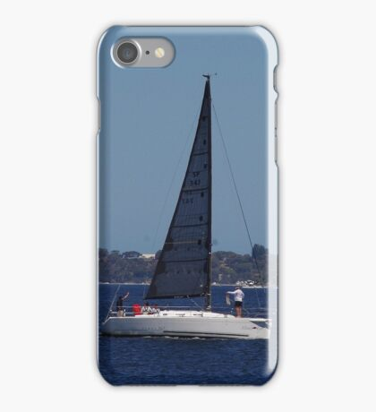 Blue Sails On The Swan iPhone Case/Skin
