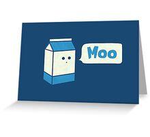 Moo Greeting Card