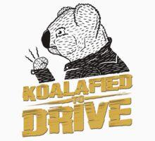 Koalafied To Drive Kids Tee