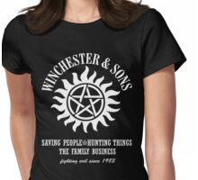 SUPERNATURAL WINCHESTER & SONS t-sHIRT Womens Fitted T-Shirt
