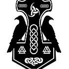 Pagan Thor's Hammer with Celtic Knots by imphavok