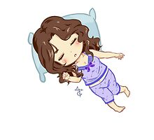 Sleepy Huntress by MGNemesi