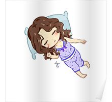 Sleepy Huntress Poster