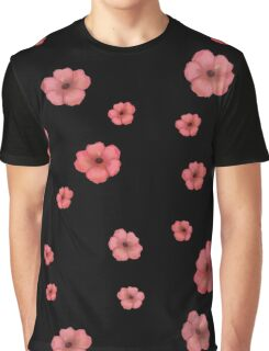 pink flowers Graphic T-Shirt