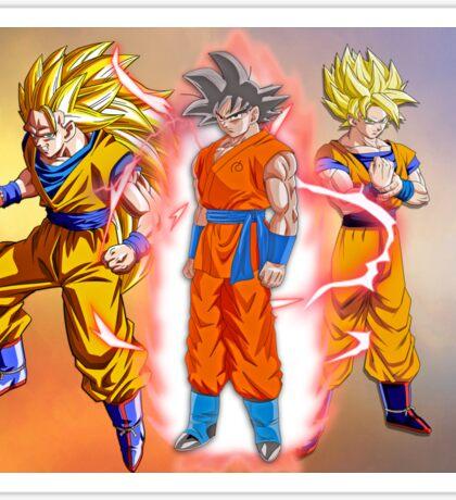 Goku DB Sticker