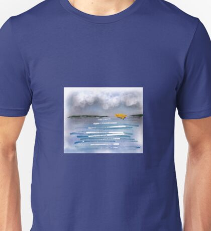 Yellow Boat Unisex T-Shirt