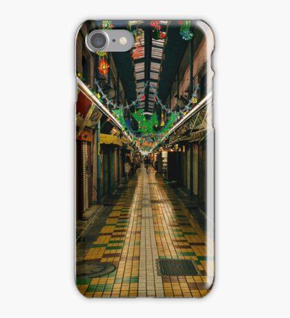 Japanese Shopping Arcade iPhone Case/Skin