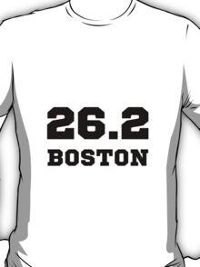 Marathon City Boston T-Shirt