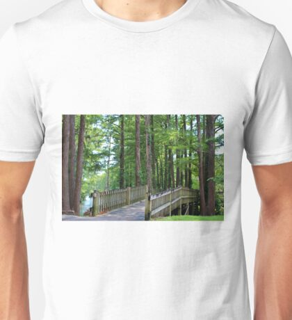 A Walk Over The Lake Unisex T-Shirt