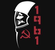 Yuri Gagarin by futbolko