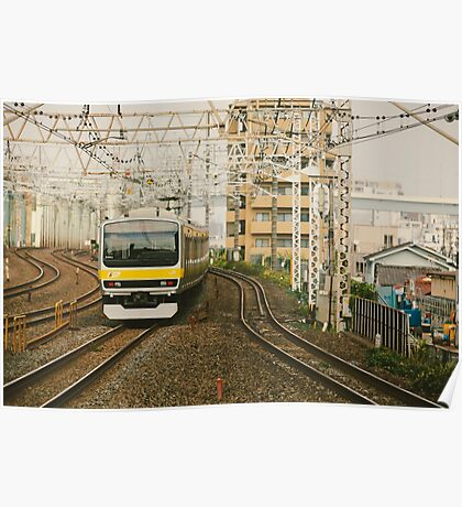 Sobu Line Local Poster
