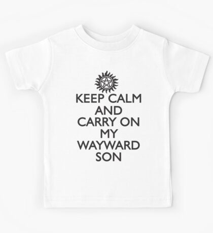 SUPERNATURAL SAM AND DEAN WINCHESTER Kids Tee