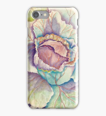 The Colors of Cabbage iPhone Case/Skin