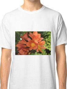 Orange Flowers Classic T-Shirt