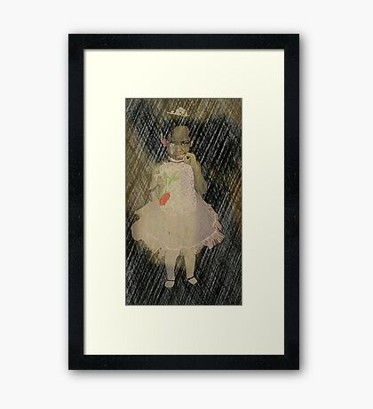 But I don't want to dance Framed Print