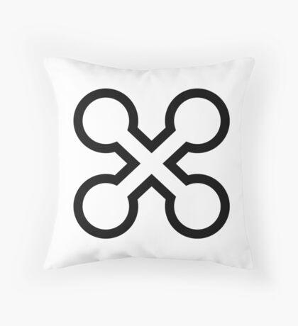 Perpetual existence Throw Pillow