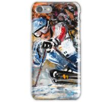 Skiing 04 iPhone Case/Skin