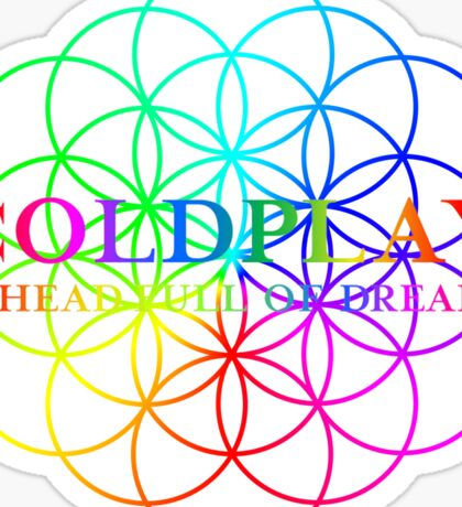 Coldplay Sticker