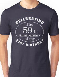 80th Birthday Gag Gift Unisex T-Shirt