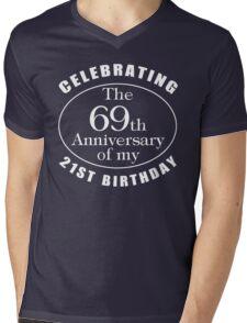90th Birthday Gag Gift Mens V-Neck T-Shirt