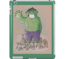 Hulk Smash Puny Blocks!!! iPad Case/Skin
