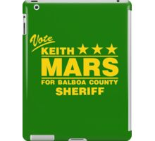 Keith Mars for Sheriff (Color) iPad Case/Skin