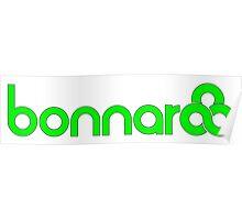Green Bonnaroo Logo Poster