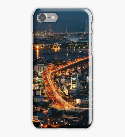 Takatoyama Night View iPhone Case/Skin